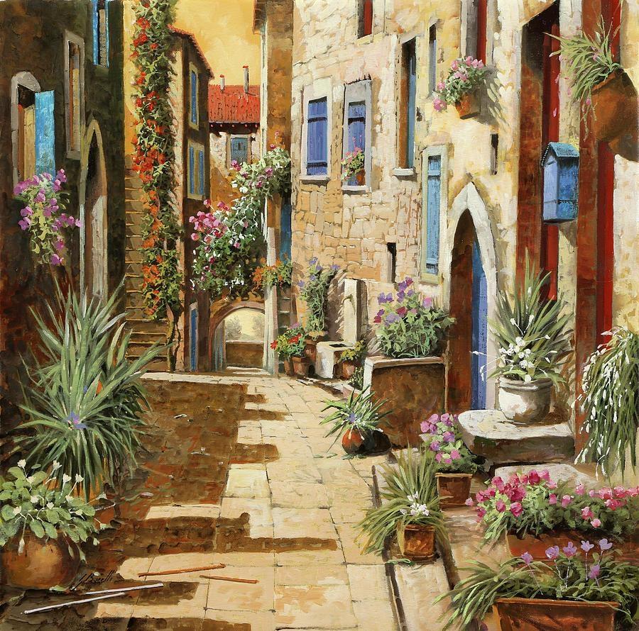 Italian Village Paintings | Fine Art America For Italian Village Wall Art (View 7 of 20)