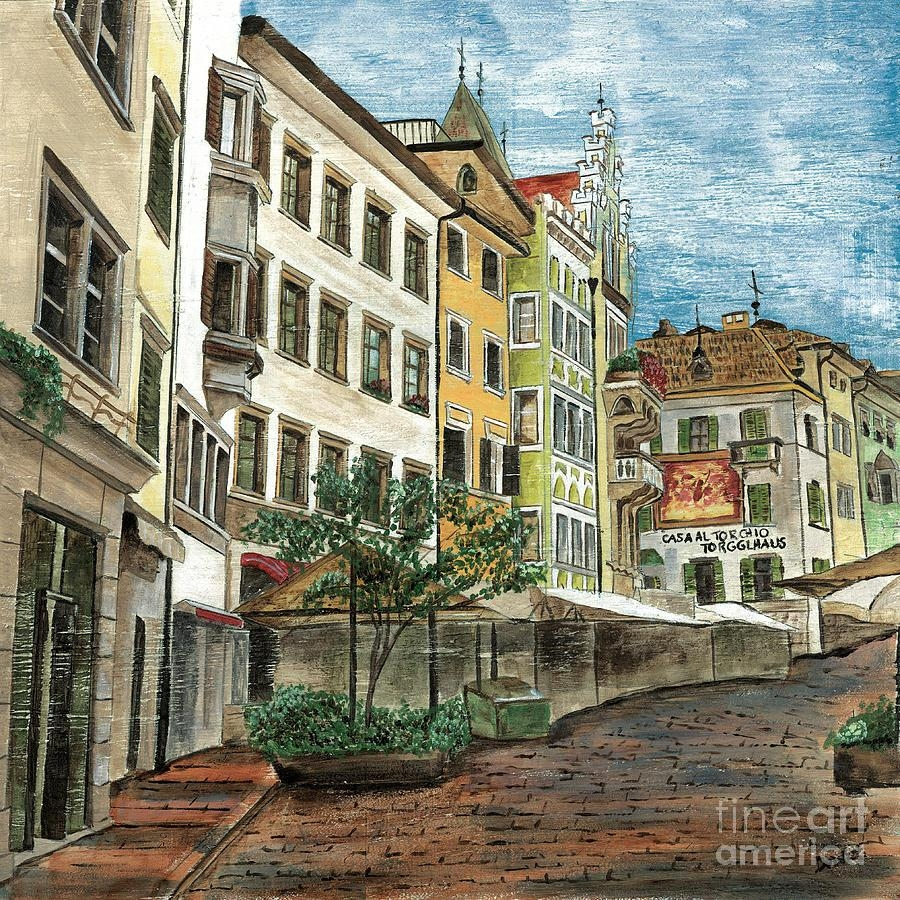 Italian Village Paintings | Fine Art America In Italian Village Wall Art (View 10 of 20)