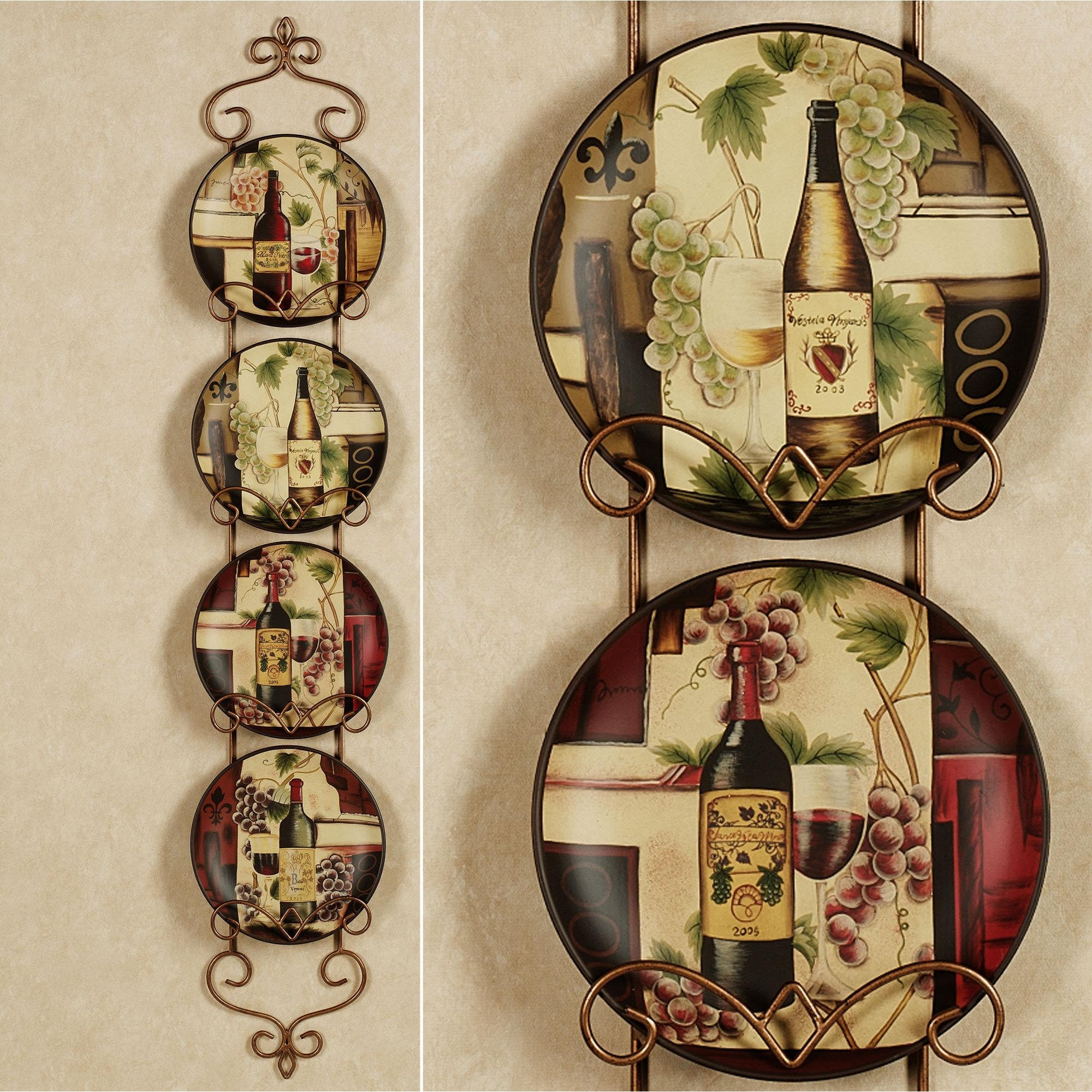 Italian Wall Art For Kitchen | Dzqxh Intended For Grape Colour Wall Art (Image 10 of 20)