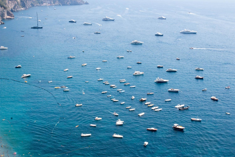 Italy Photography, Morning View In Positano, Amalfi Coast, Italy Regarding Italian Coast Wall Art (Image 10 of 20)
