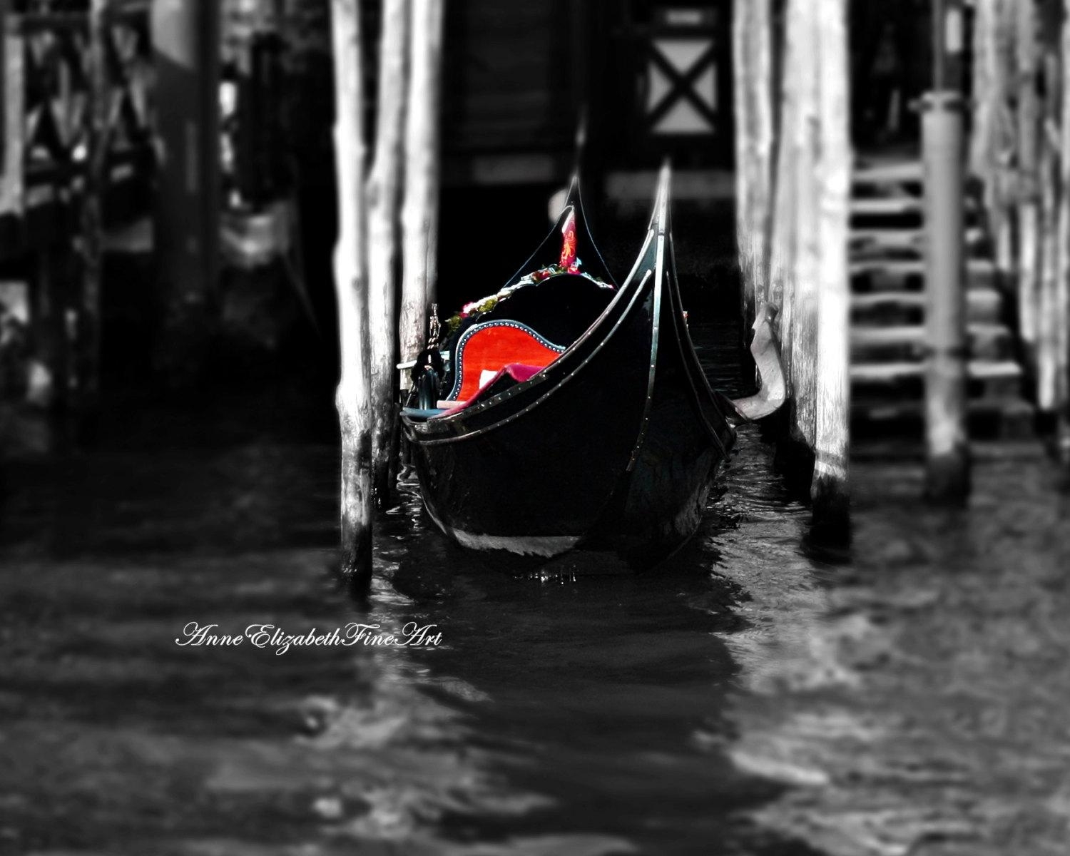 Italy Photographyitalian Theme Home Black White Red Intended For Black And White Italian Wall Art (View 20 of 20)