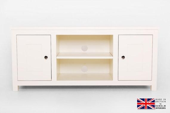 Items Similar To Olivia Cream Painted Tv Cabinet, White Painted Tv For 2017 Cream Tv Cabinets (View 6 of 20)