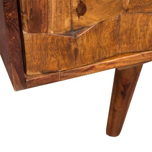 Jali Modern Sheesham Wood Slimtv Stand – Jali Tv Stand With A Intended For Most Current Sheesham Wood Tv Stands (View 18 of 20)