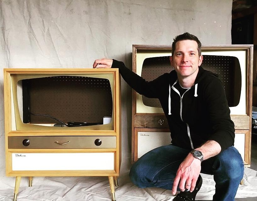 Jeff Makes Two More Midcentury Modern Style Tv Cabinets - Retro within Most Popular Vintage Style Tv Cabinets