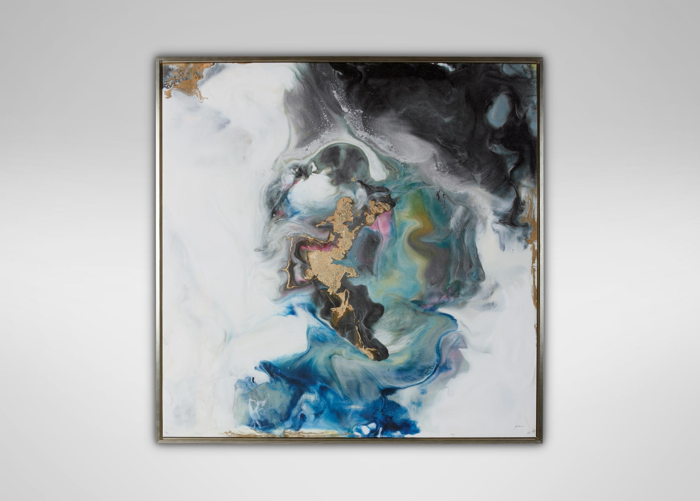 Journey To The Unknown | Abstract for Ethan Allen Wall Art