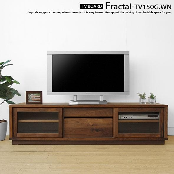 Joystyle Interior | Rakuten Global Market: An Amount Of Money Inside Most Up To Date Walnut Tv Cabinets With Doors (Image 4 of 20)