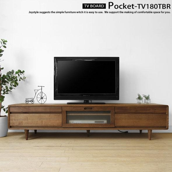 Joystyle Interior | Rakuten Global Market: Width 180 Cm Ash Wood With Most Recent Tv Stands With Rounded Corners (View 6 of 20)