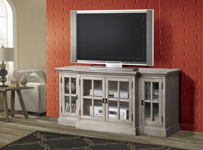 Julian Collection Sand intended for Latest Glass Fronted Tv Cabinet
