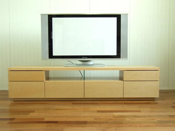 Kagu208 | Rakuten Global Market: Rakuten Ranking Prize ☆ Netone With Regard To Recent Maple Tv Cabinets (Image 9 of 20)