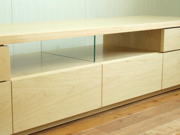 Kagu208 | Rakuten Global Market: Rakuten Ranking Prize ☆ Netone Within Most Popular Maple Tv Cabinets (View 14 of 20)
