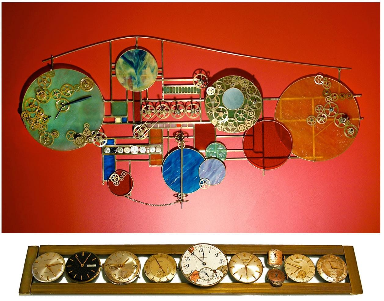 Kinetic Sculpture Artist – Andrea Davide | Second Time | A Wall Throughout Kinetic Wall Art (Image 6 of 20)