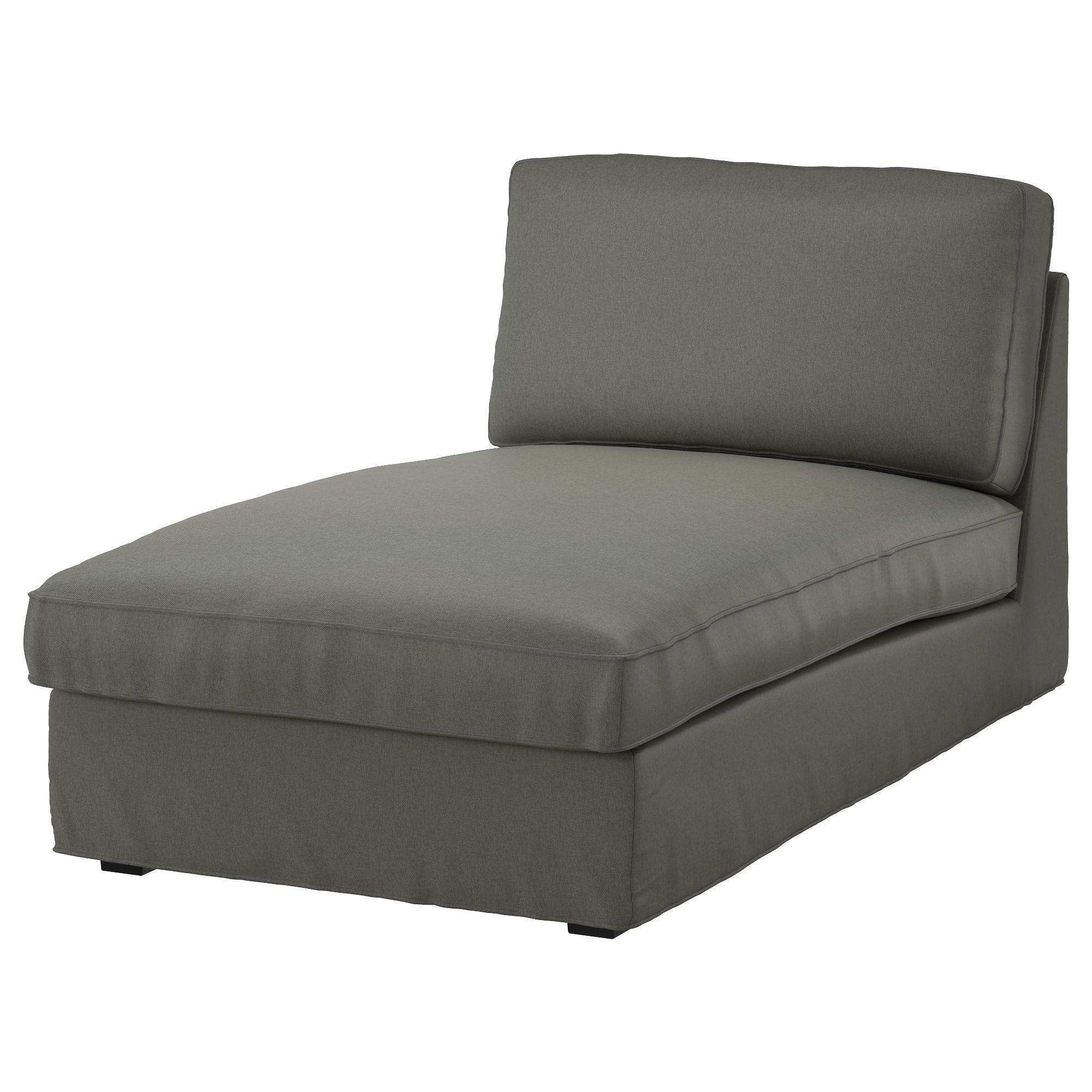Kivik Chaise – Orrsta Light Gray – Ikea In Ikea Chaise Lounge Sofa (Image 14 of 20)