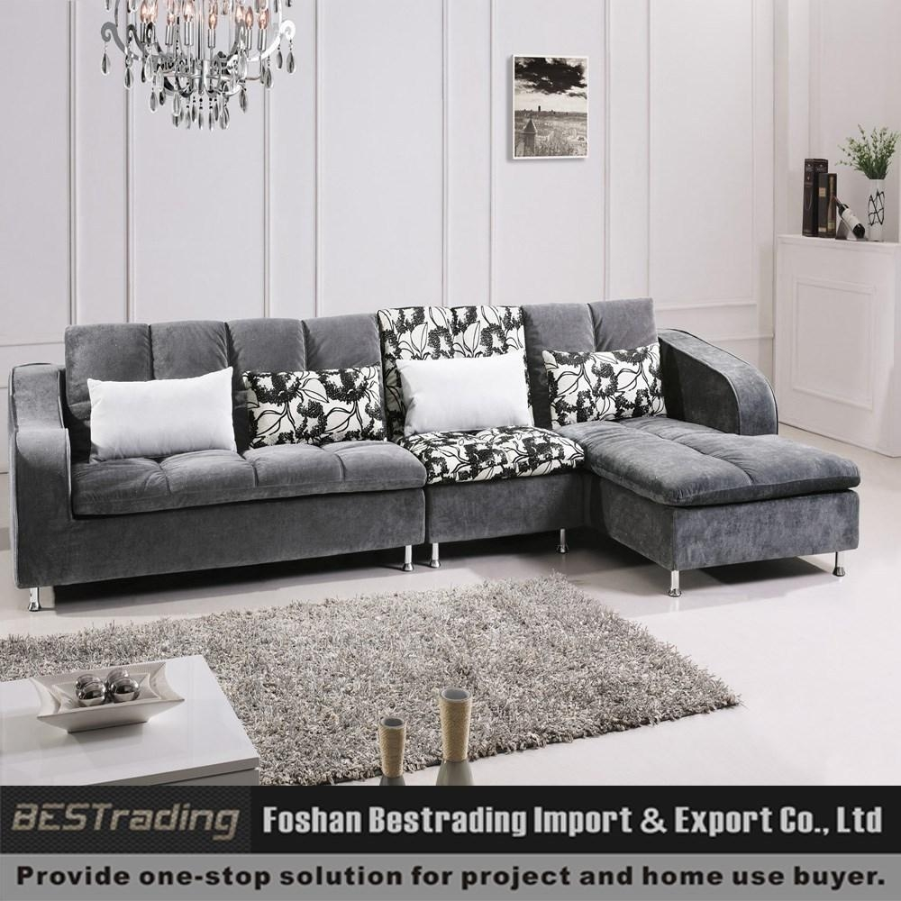 L Shaped Modern Sofa Set | Centerfieldbar Regarding L Shaped Fabric Sofas (View 15 of 20)