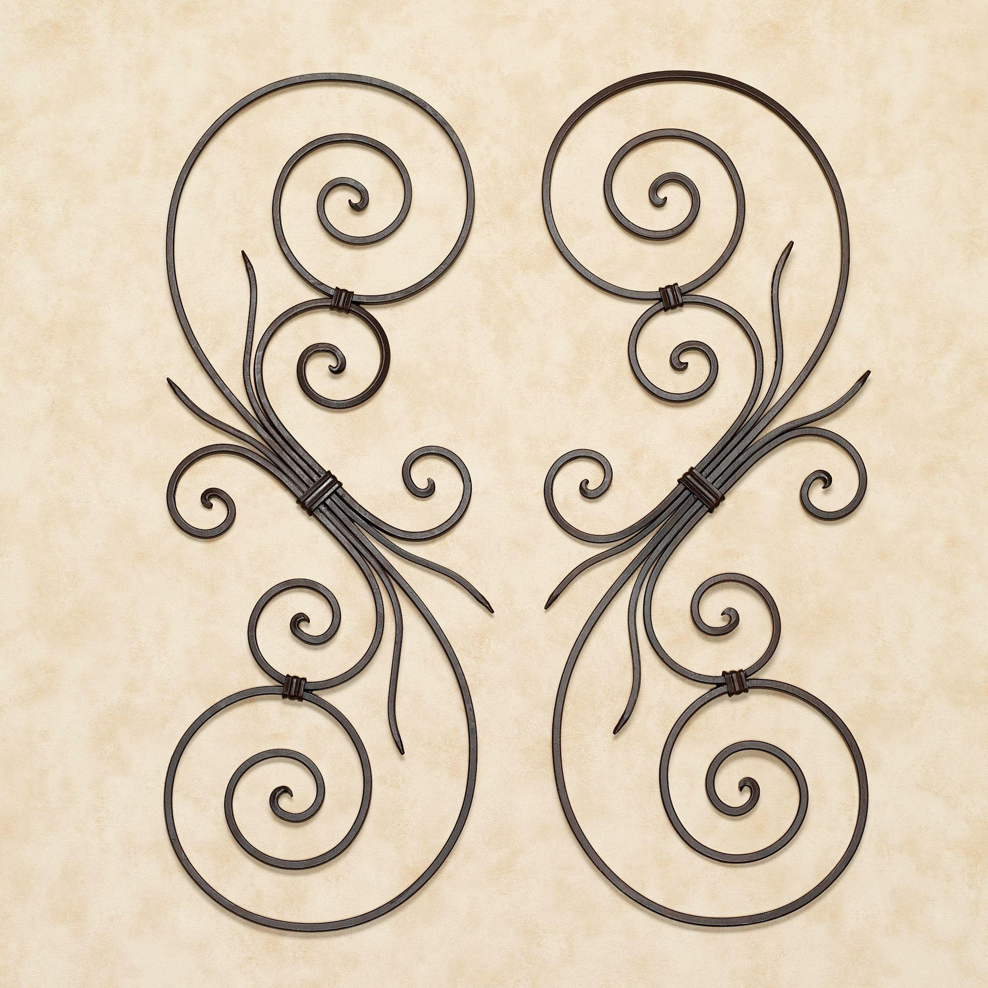 Featured Image of Iron Scroll Wall Art