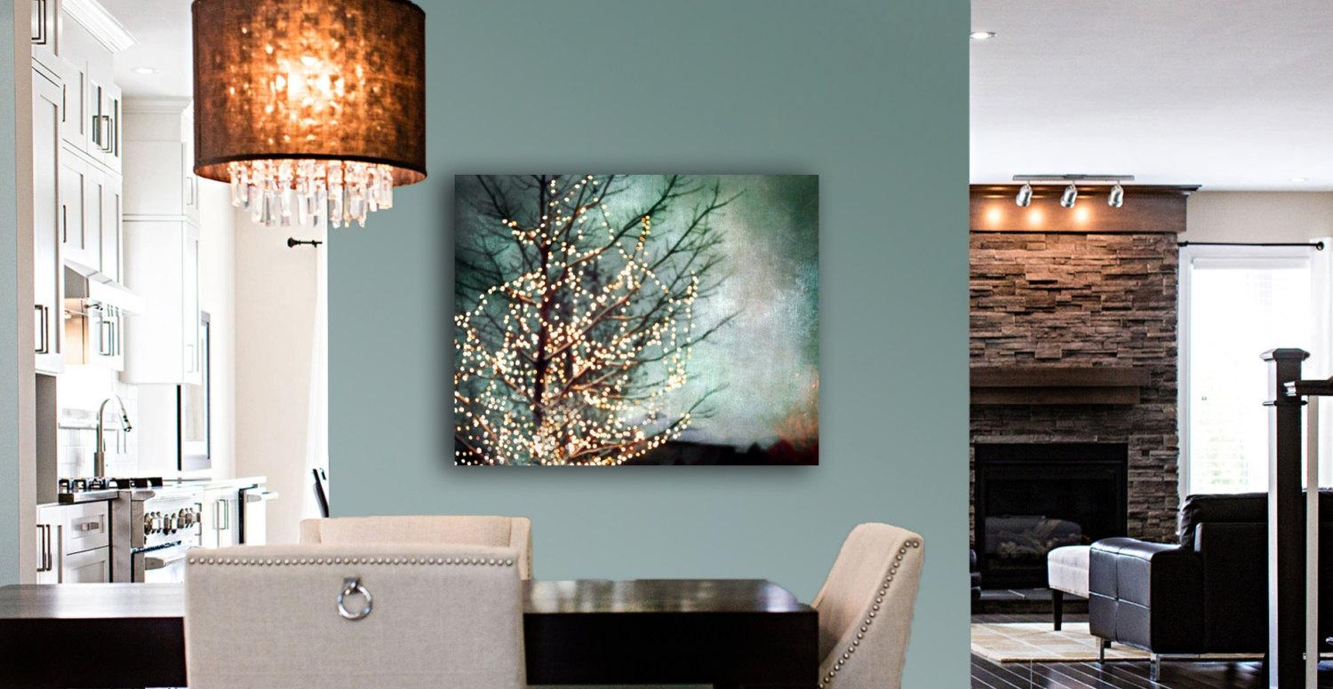 Large Abstract Canvas Art Teal Wall Art Canvas Gold Black With Regard To Black And Teal Wall Art (Image 9 of 20)