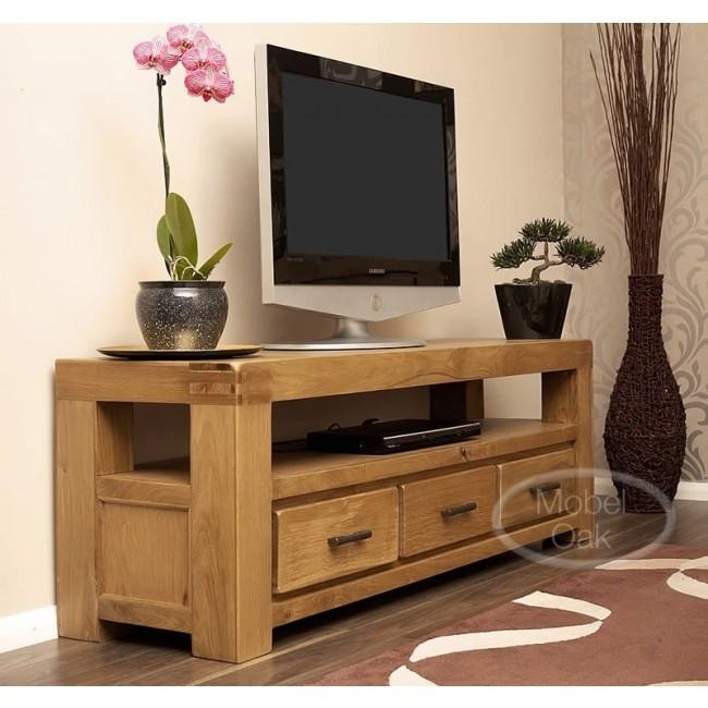 Large Oak Tv Cabinet Cabinet Rustic Tv Cabinet Bright Laredo Inside Best And Newest Large Oak Tv Stands (Image 10 of 20)