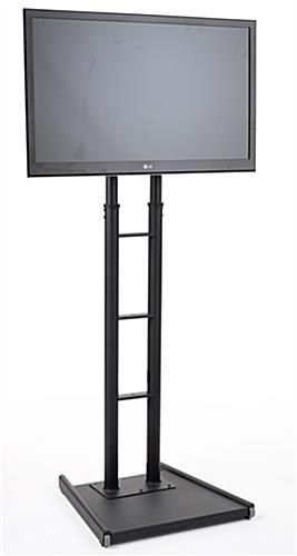 """Large Tv Stand For 32"""" To 65"""" Screens W/ Tall Adjustable Design For Most Popular Tall Tv Stands For Flat Screen (Image 7 of 20)"""