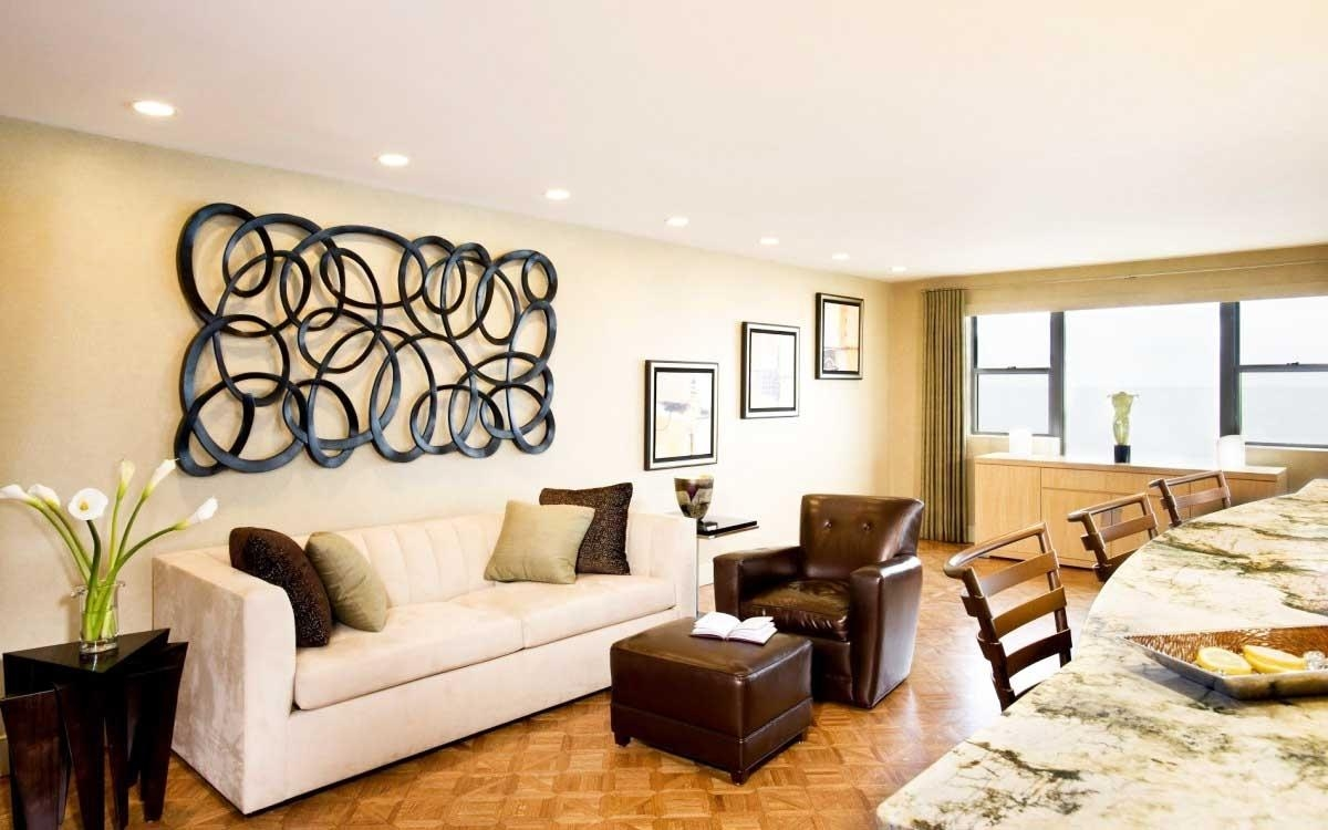 Large Wall Decor Ideas For Living Room New In Impressive Elegant Intended For Wall Arts For Living Room (View 9 of 20)