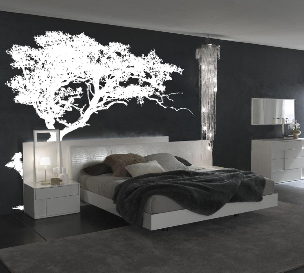 Large Wall Tree Decal Forest Decor Vinyl Sticker Highly Detailed Inside Oak Tree Vinyl Wall Art (View 11 of 20)