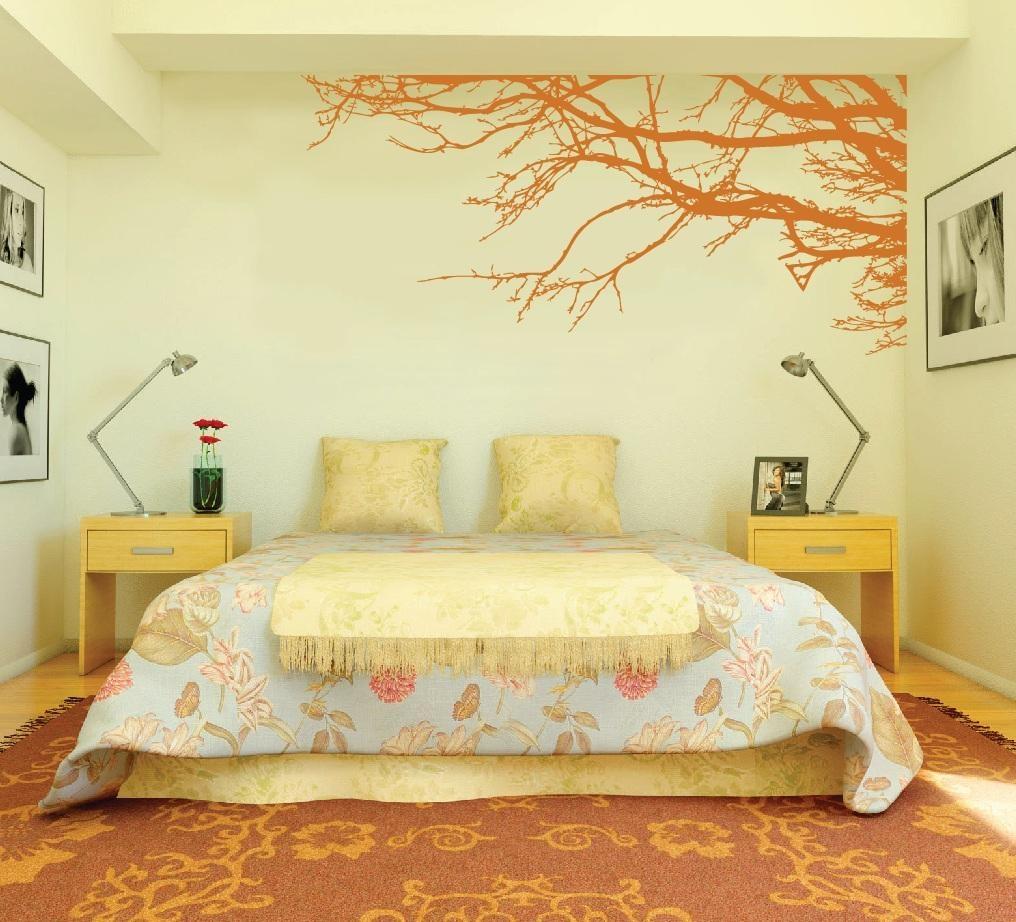 Large Wall Tree Nursery Decal Oak Branches #1130 – Innovativestencils In Oak Tree Vinyl Wall Art (View 18 of 20)