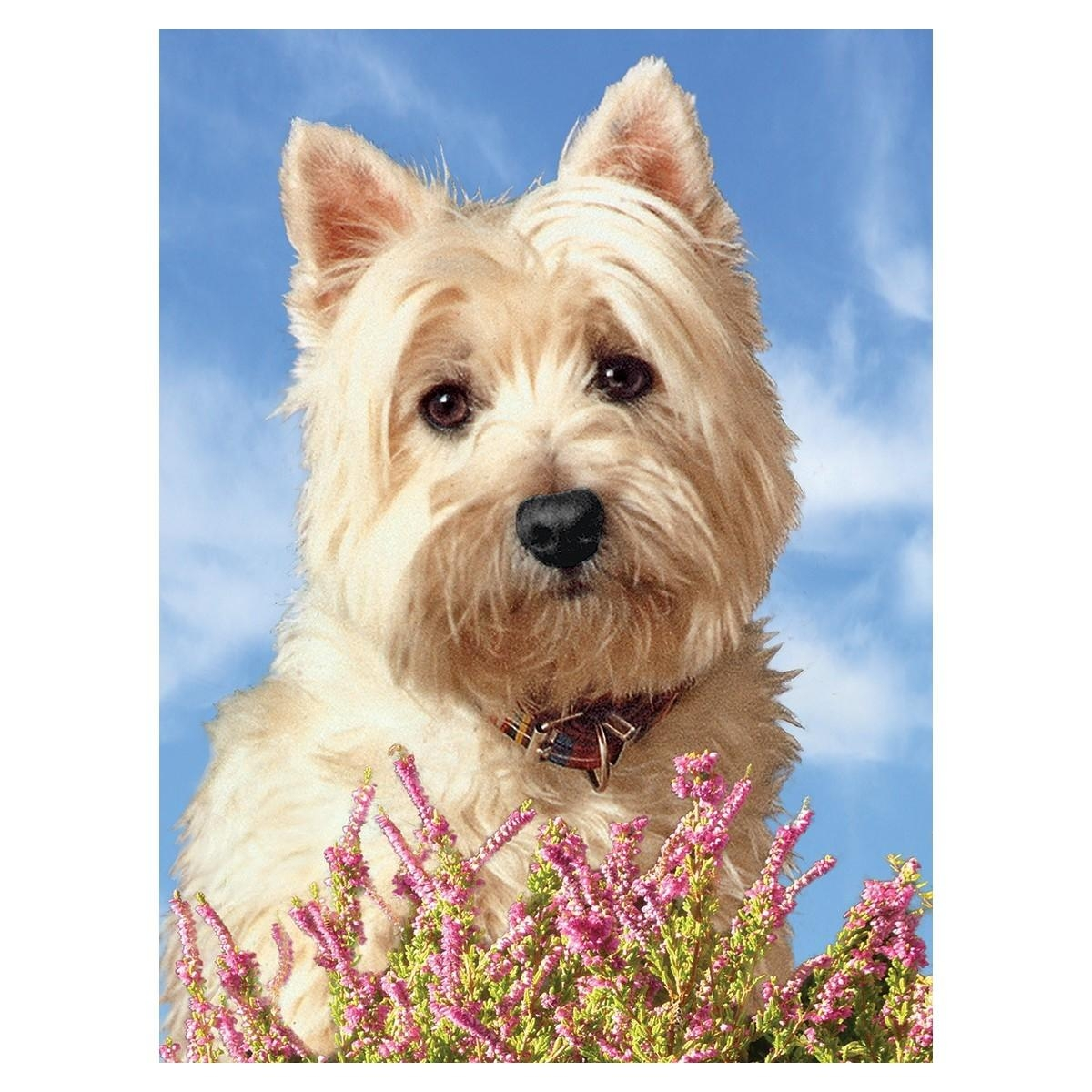 Large Westie Picture 3D Westie Wall Art  West Highland White For Westie Wall Art (Image 8 of 20)