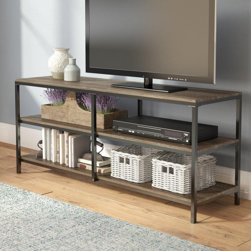"""Laurel Foundry Modern Farmhouse Forteau 55"""" Tv Stand & Reviews Pertaining To 2017 Comet Tv Stands (Image 14 of 20)"""