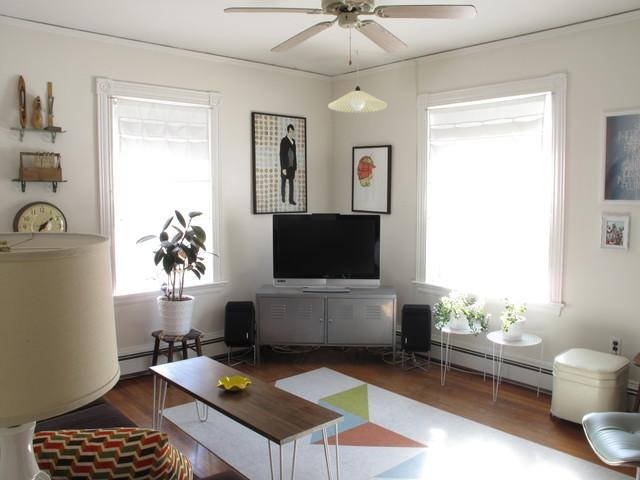 Lcd Tv Stand Corner | Houzz With Regard To Recent Tv Stands Rounded Corners (View 12 of 20)