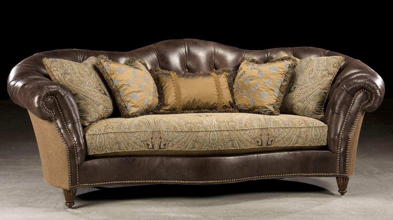 Leather And Fabric Sofas 95 With Leather And Fabric Sofas With Regard To Leather And Material Sofas (Image 8 of 21)
