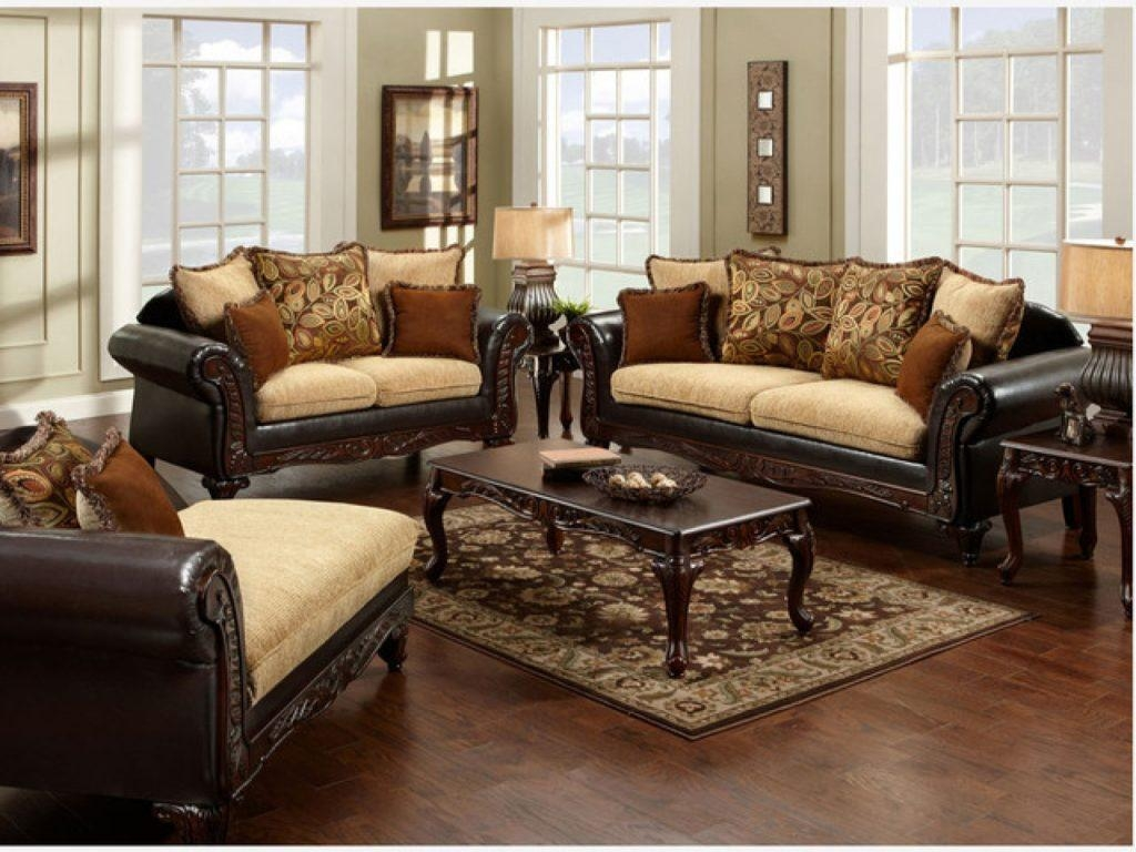 Leather And Fabric Sofas With Leather And Fabric Sofas Leather And For Leather And Material Sofas (Image 9 of 21)