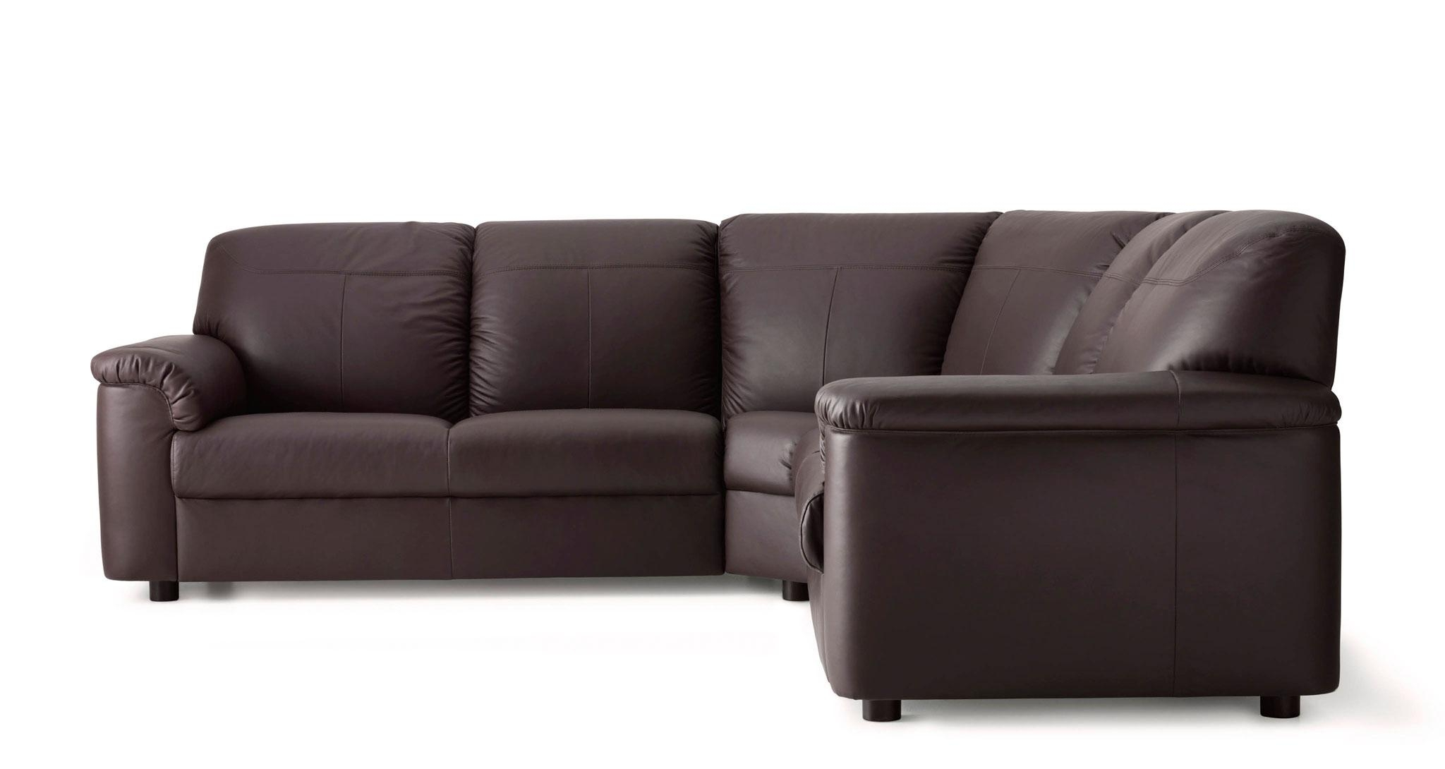 Leather & Coated Fabric Corner Sofas | Ikea Throughout Small Brown Leather Corner Sofas (Image 14 of 21)