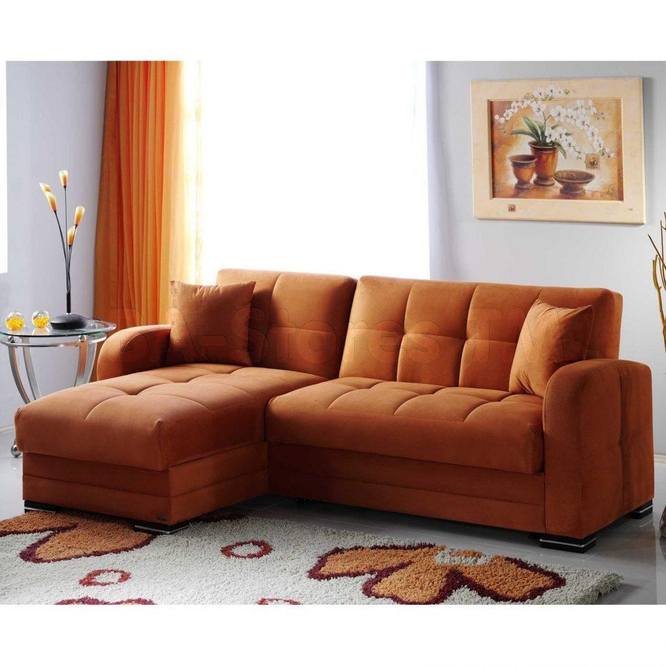 Leather Corner Sofa Tags : Awesome Orange Leather Sofa Awesome Inside Large Black Leather Corner Sofas (Image 15 of 22)
