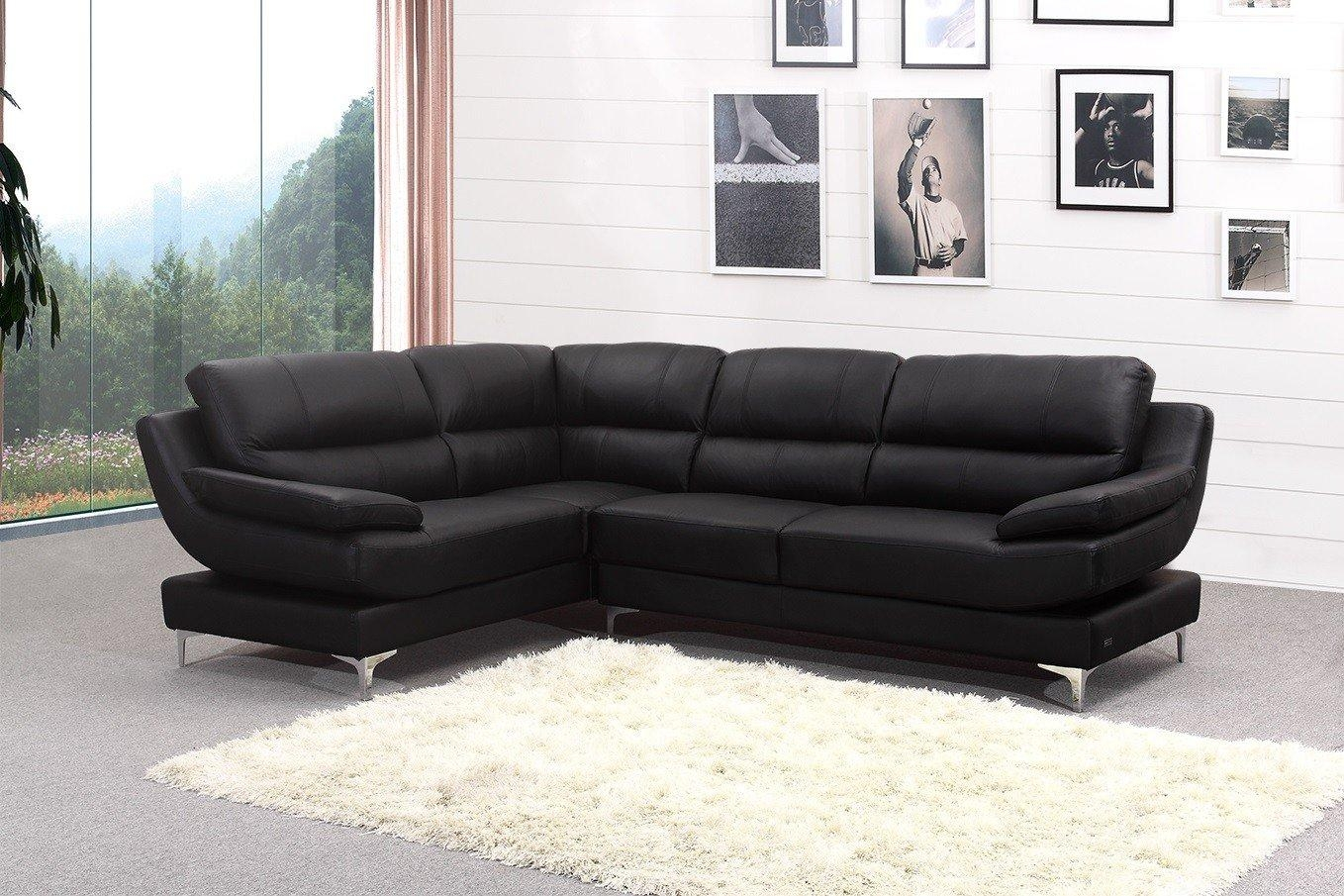 Leather Corner Sofa To Start A Life With Altered Environment For Large Black Leather Corner Sofas (Image 16 of 22)