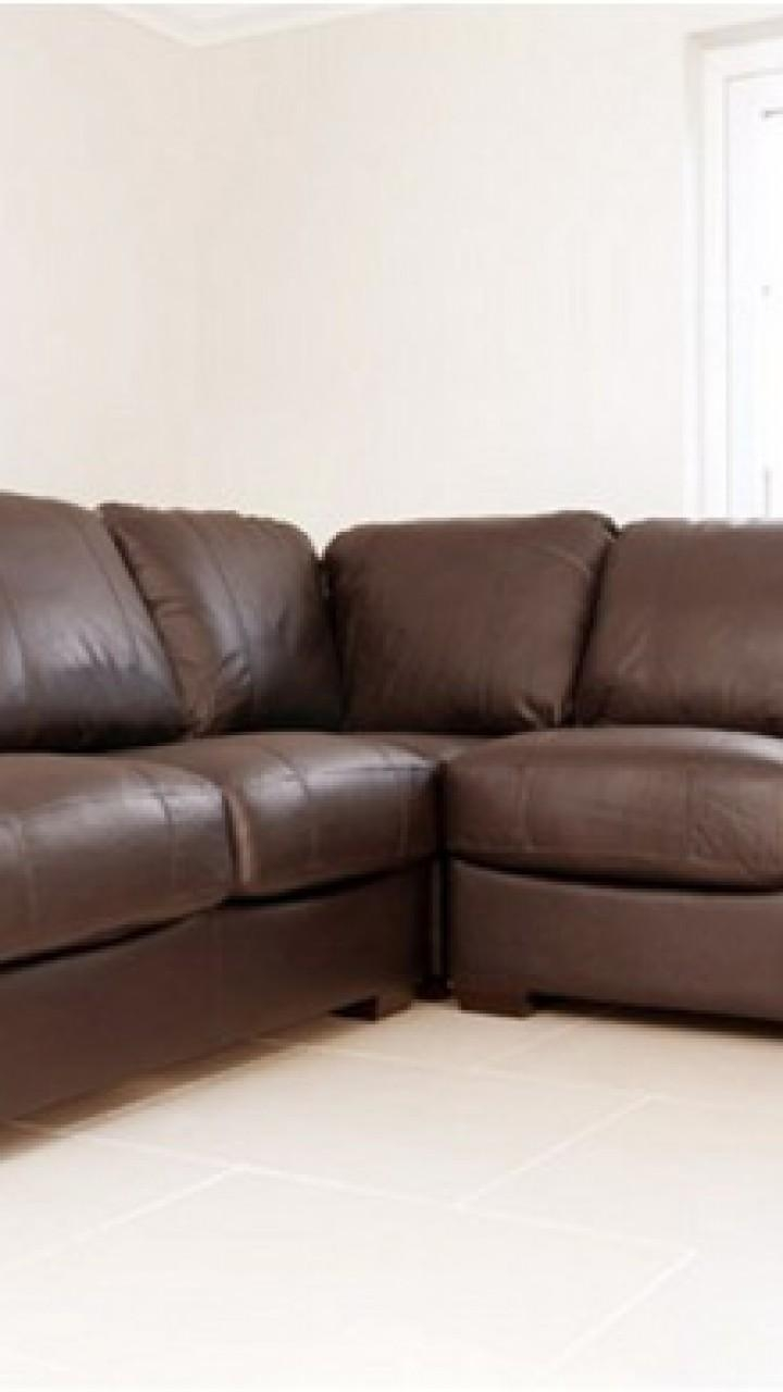 Leather Corner Sofas : Amore Brown Leather Corner Sofa Suite, Dfs With Small Brown Leather Corner Sofas (Image 16 of 21)
