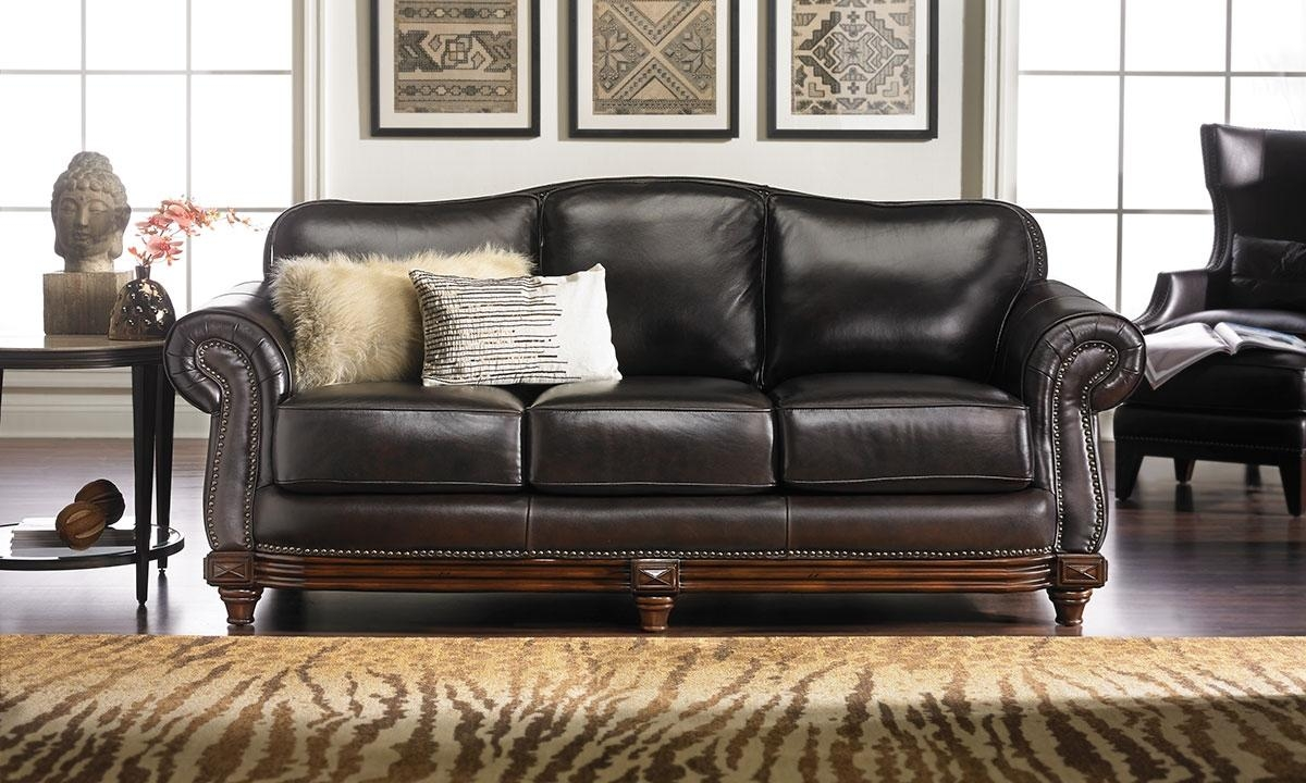 Leather Sofas | Haynes Furniture, Virginia's Furniture Store With Leather Sofas (View 7 of 21)