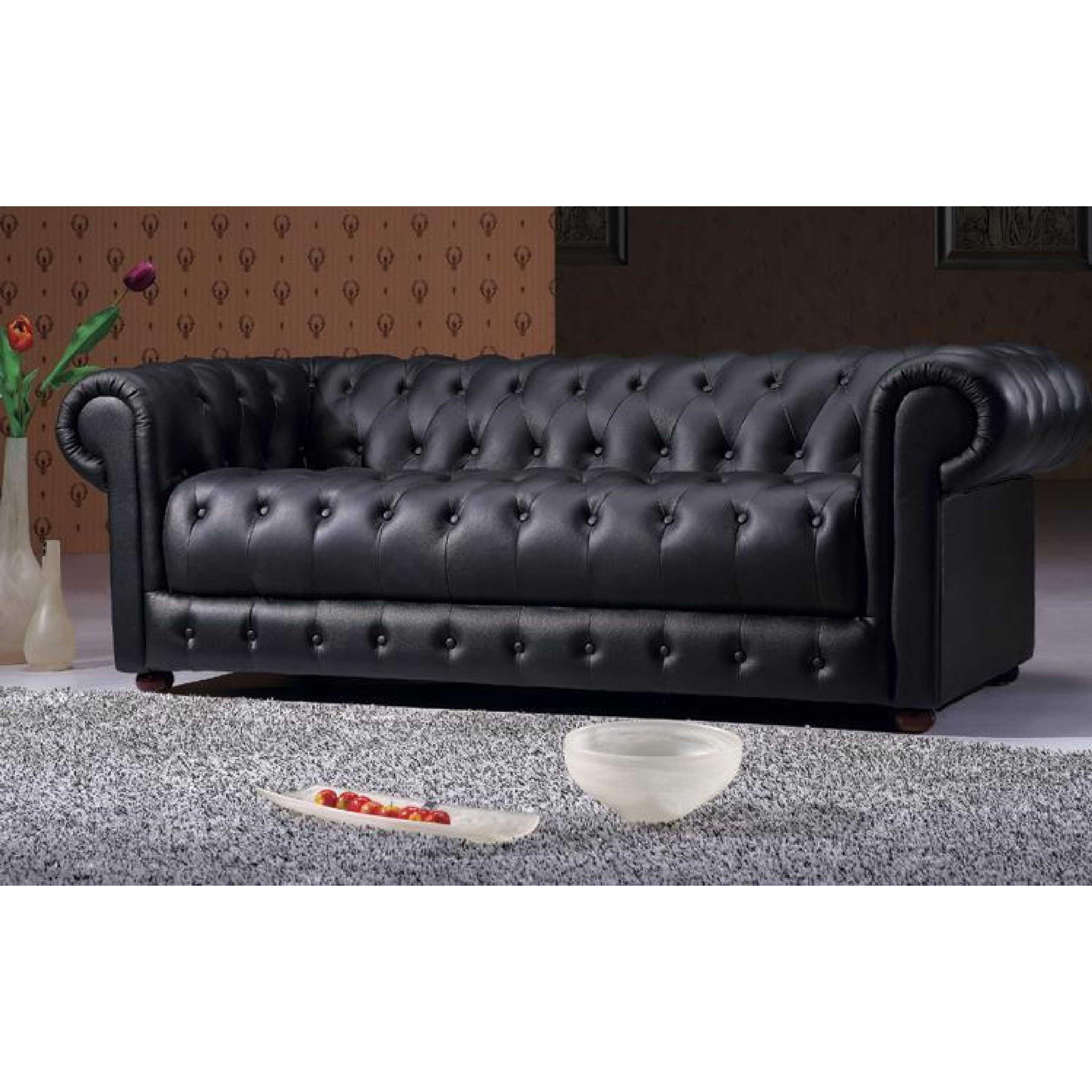 Leather Tufted Sofa – Helpformycredit With Cheap Tufted Sofas (Image 8 of 23)