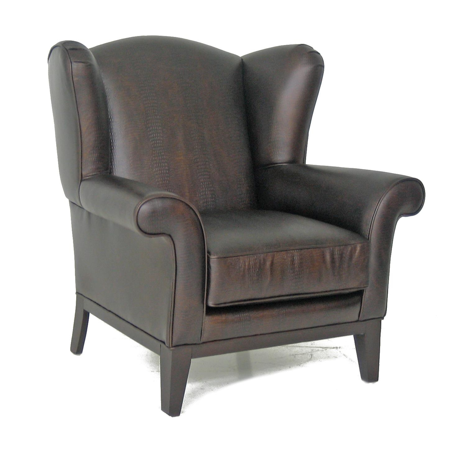 Leather Wingback Chair | Home Designlarizza For Chair Sofas (View 7 of 22)
