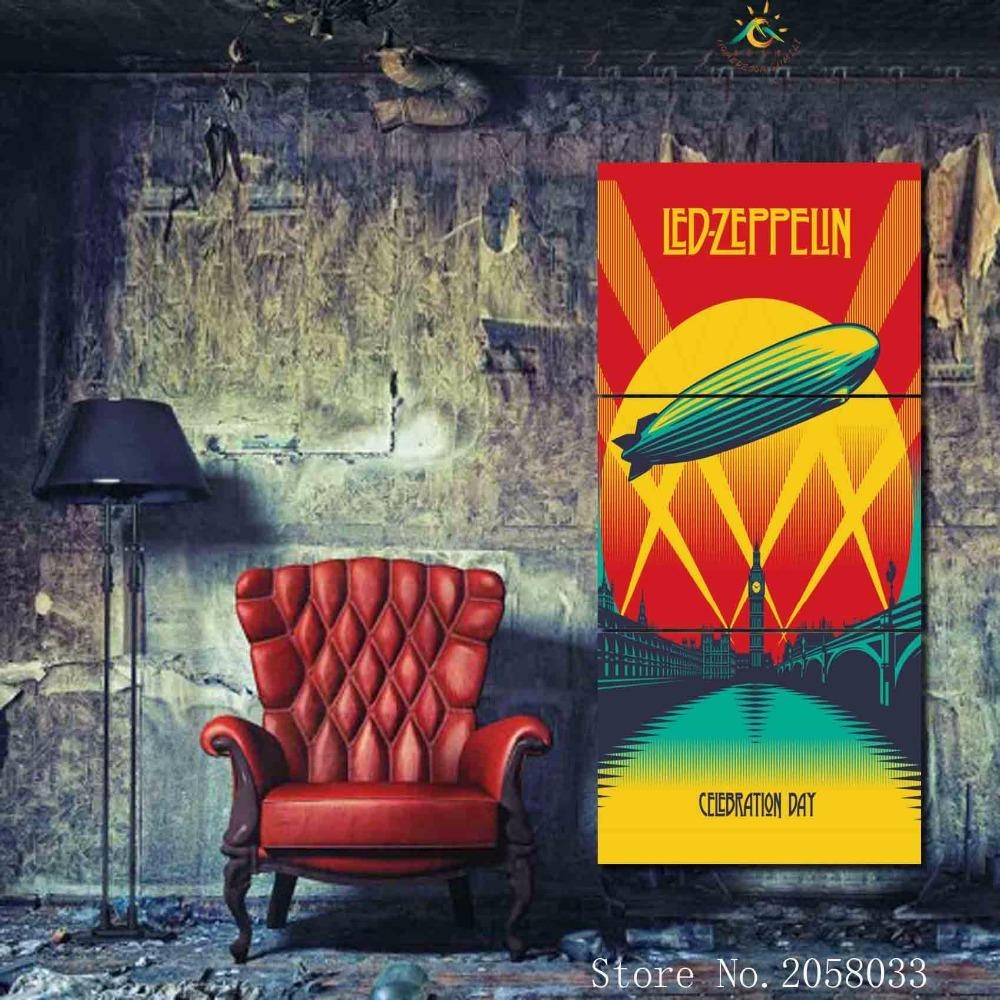 Led Zeppelin Wall Art Promotion Shop For Promotional Led Zeppelin In Led Zeppelin Wall Art (Image 10 of 20)