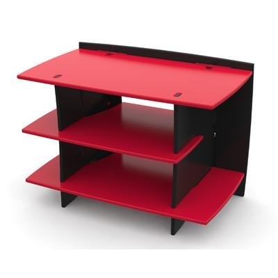 "Legare Furniture Red Race Kid's Gaming 33"" Tv Stand & Reviews In Newest Red Tv Stands (Image 8 of 20)"