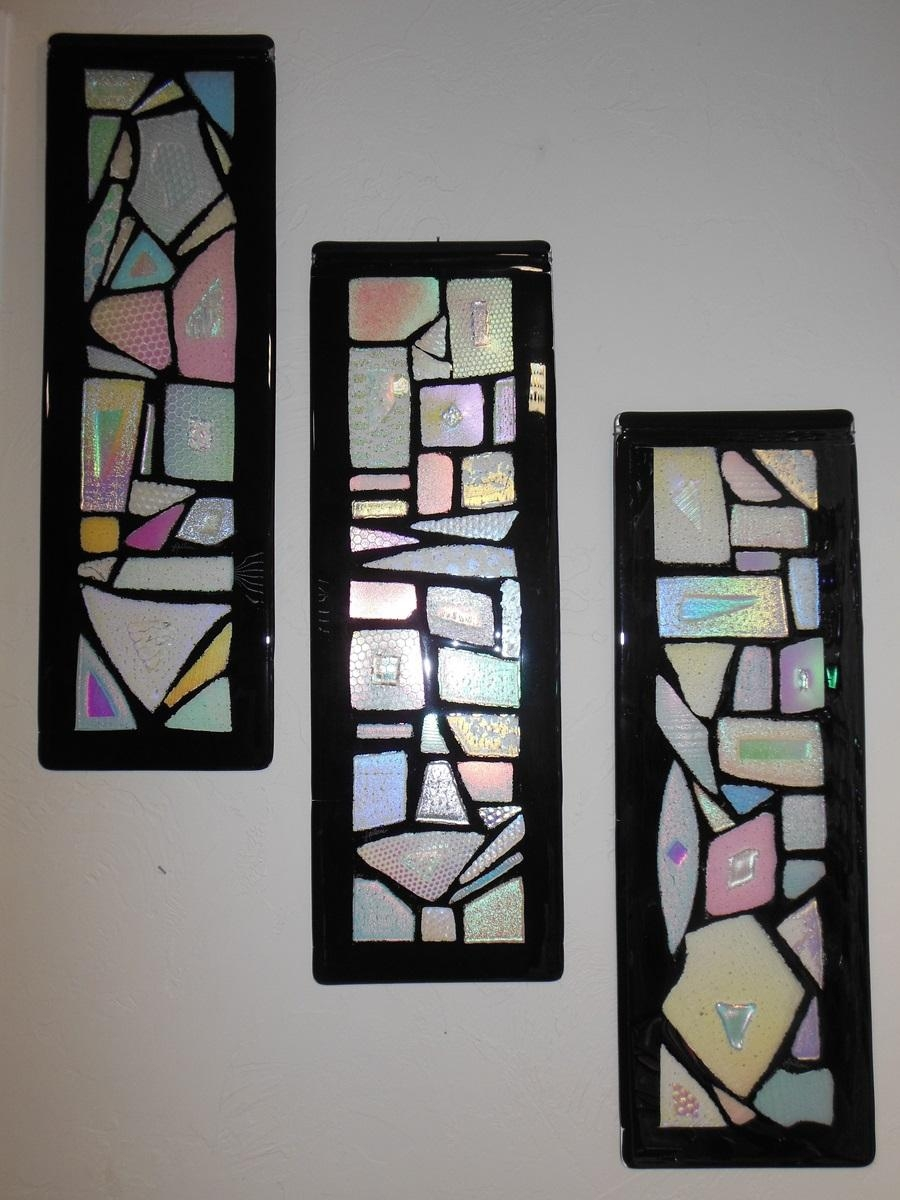 Leiloni Designs Studio Within Framed Fused Glass Wall Art (View 10 of 20)