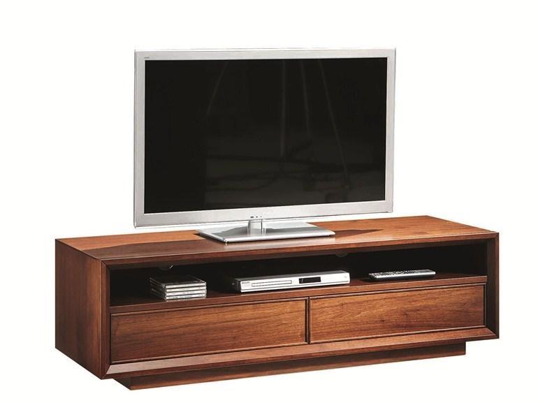 Leonardo | Tv Cabinetselva Design Tiziano Bistaffa For Latest Wooden Tv Cabinets (Image 11 of 20)