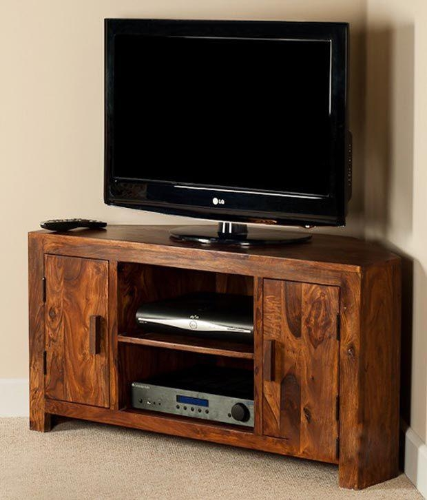 Lifeestyle – Handcrafted Sheesham Wood Tv Stand – Buy Lifeestyle In Current Sheesham Wood Tv Stands (View 5 of 20)