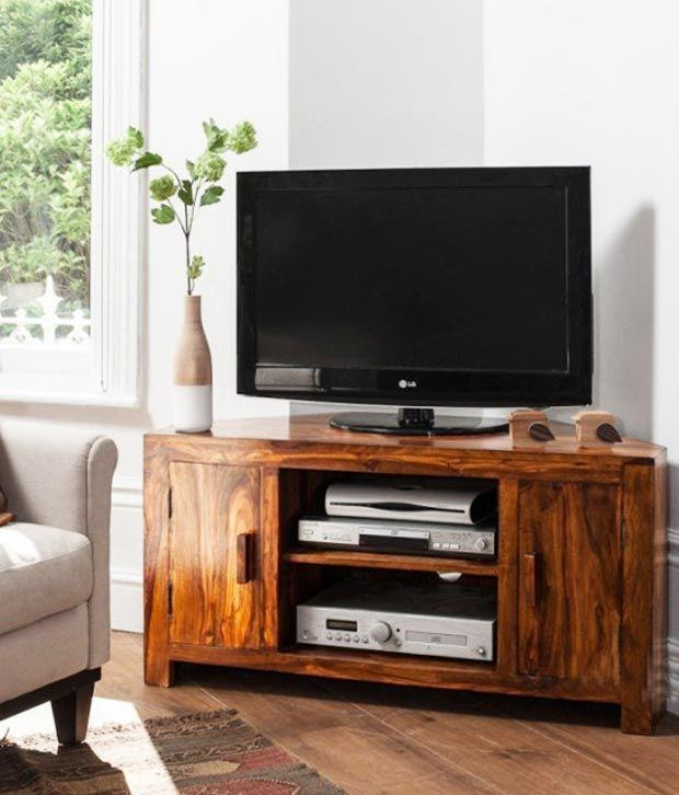 Lifeestyle – Handcrafted Sheesham Wood Tv Stand – Buy Lifeestyle Pertaining To Newest Sheesham Wood Tv Stands (View 16 of 20)