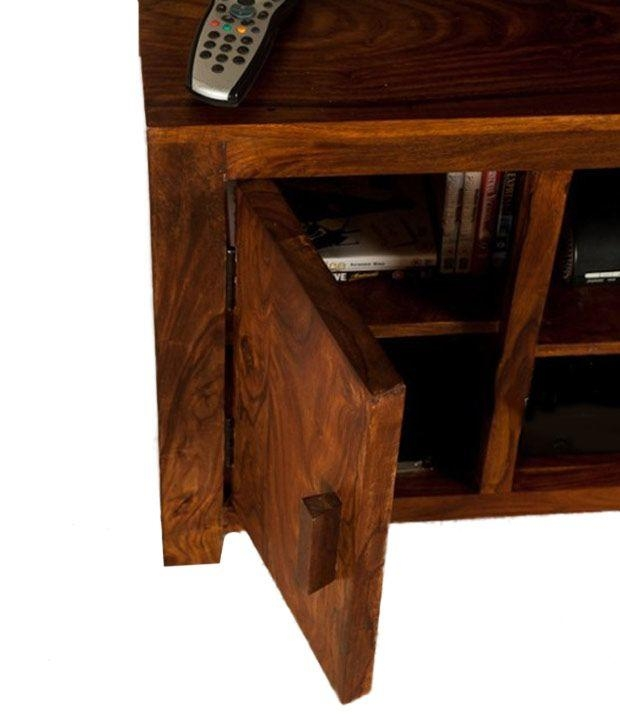 Lifeestyle – Handcrafted Sheesham Wood Tv Stand – Buy Lifeestyle With Regard To Most Recently Released Sheesham Wood Tv Stands (View 10 of 20)