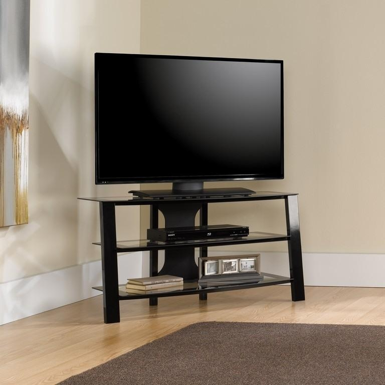 Light Brown Wood – Entertainment Centers – Tv Stands – The Home With 2017 Light Colored Tv Stands (Image 9 of 20)