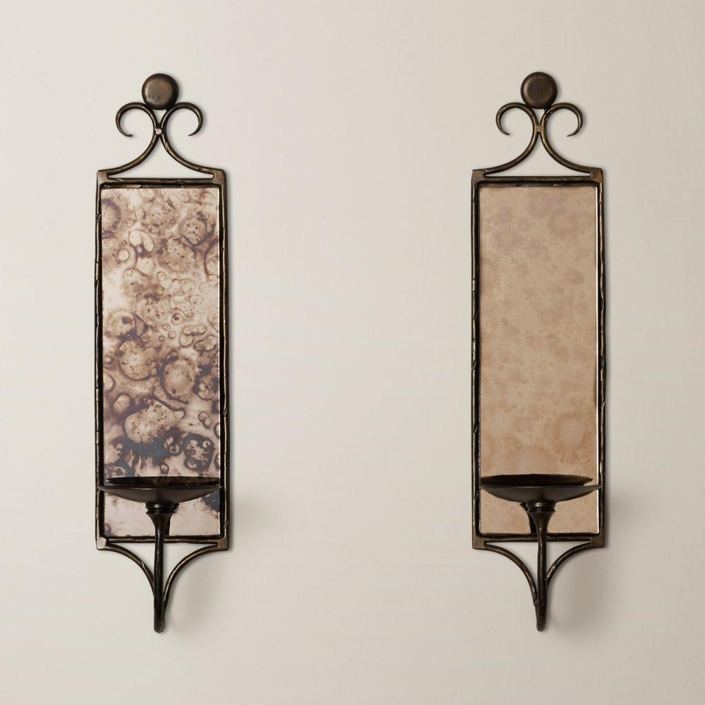 Lighting Mirrored Wall Sconces Bathroom Wall Sconce Glass Sconce Throughout Italian Glass Wall Art (Image 12 of 20)