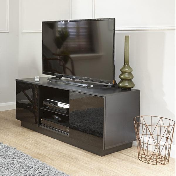 Lima High Gloss Tv Unit – Next Day Delivery Lima High Gloss Tv Within Most Up To Date Black Gloss Tv Units (View 5 of 20)