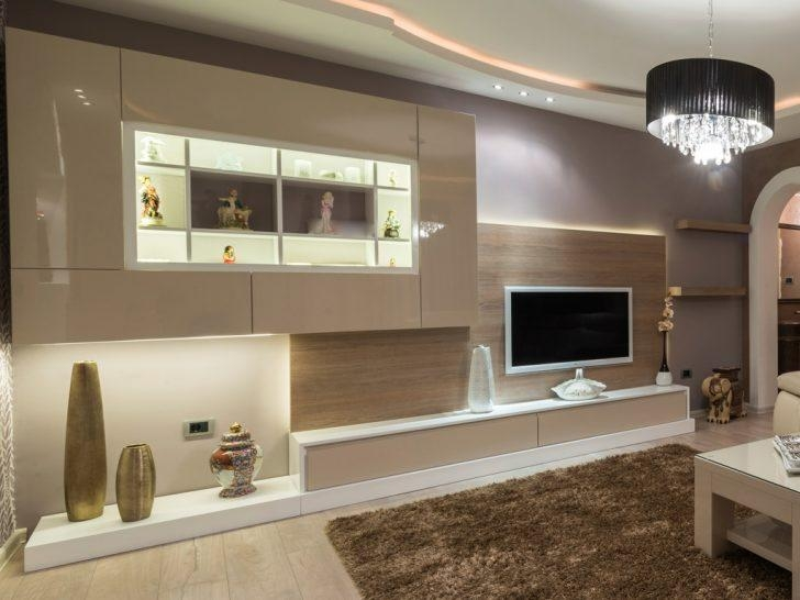 Living ~ 2 Bespoke Built In Fitted Tv Units Cabinets Gloss Luxury Regarding Newest Bespoke Tv Cabinets (View 13 of 20)