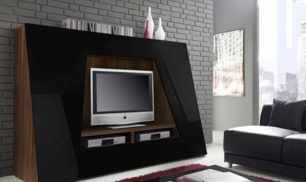 Living ~ Awesome Unusual Tv Stands With Led Tv Above Two Dvd For Most Up To Date Unusual Tv Units (Image 8 of 20)