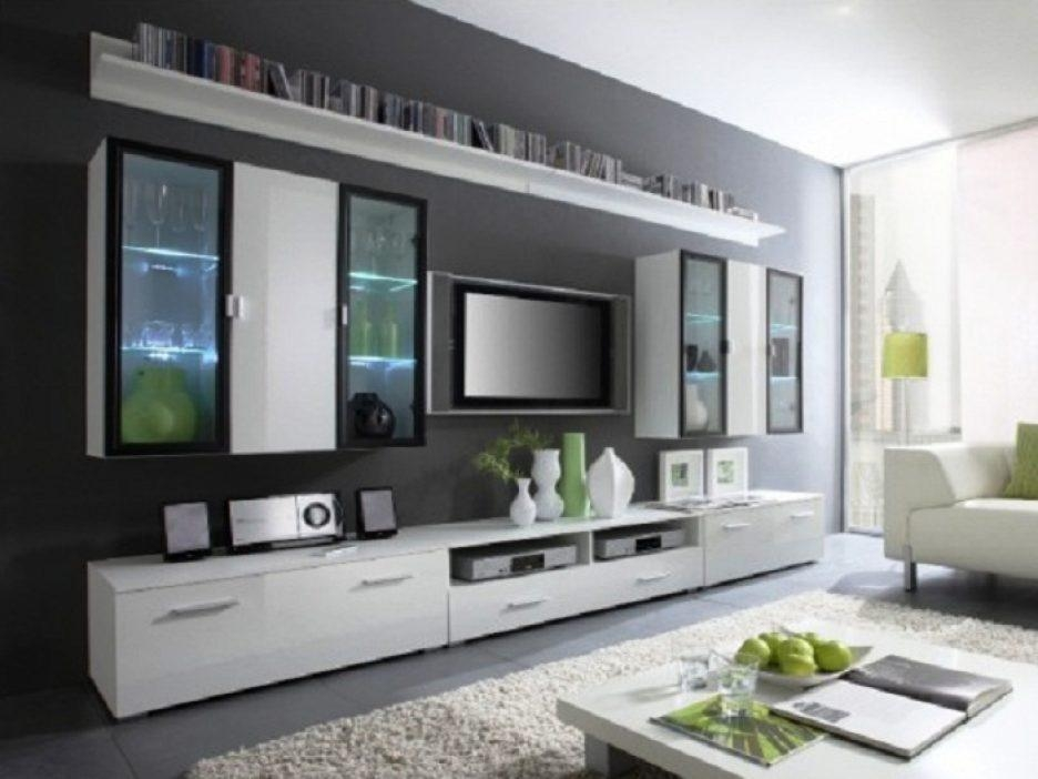 Living Room : Awesome Led Tv Cabinet Designs For Living Room With With Regard To Most Popular Wall Mounted Tv Cabinets For Flat Screens (Image 6 of 20)