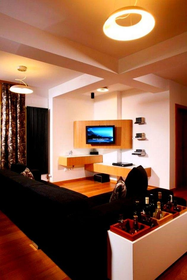 Living Room : Cool Modern Corner Tv Units For Living Room Ideas Throughout Newest Modern Corner Tv Units (View 20 of 20)